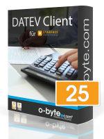 o-byte DATEV Client - 25 Benutzer